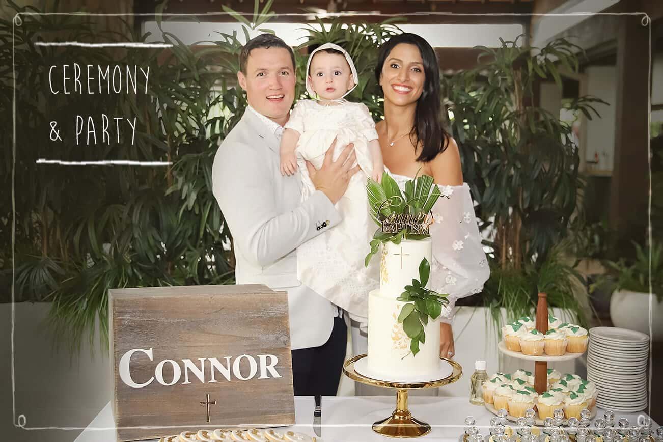 Ceremony Christening Photoshoot in Sydney - Blossom Brook-Studio
